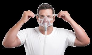 หน้ากากแบบครอบจมูกและปาก (Full Face Mask)