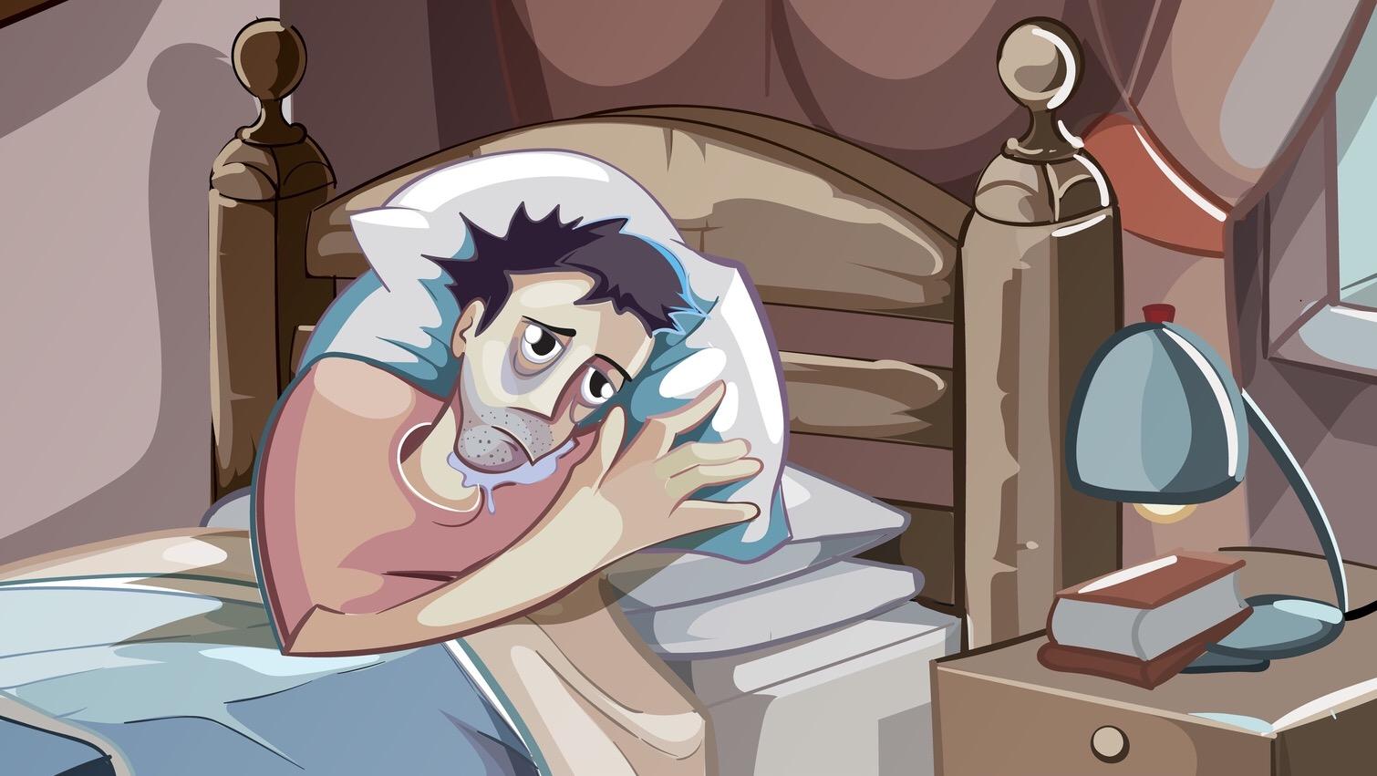 5 โรคร้ายที่เติบโตในตัวคุณเมื่อนอนหลับไม่เพียงพอ
